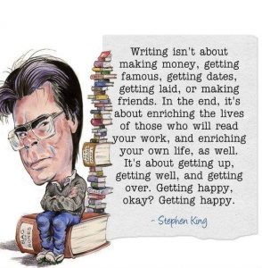 Writing Advice from Stephen King